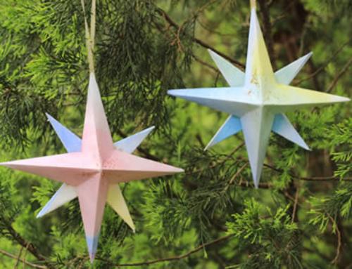 3D Paper Star