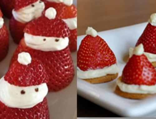 Strawberry Santas & Santa Hats