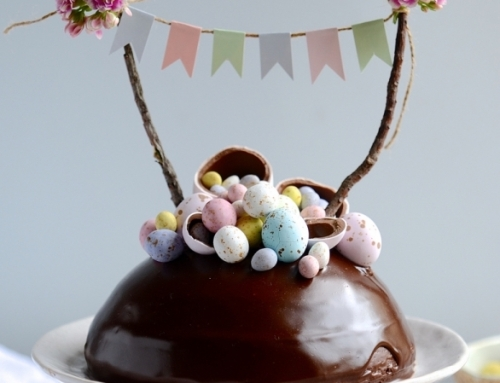 Chocolate Easter Egg Surprise Cake recipe