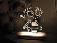 Robot-Night-Light