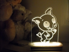 Piggy-Night-Light