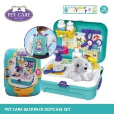Pet-care-backpack-suitcase-set