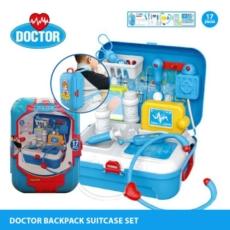 doctor-backpack-suitcase-set