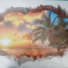3D-sticker-sunset-palm-tree